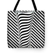Striped Water Tote Bag