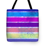 Stripes Abstract Art Tote Bag by Ann Powell