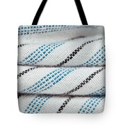 Stripey Material Tote Bag