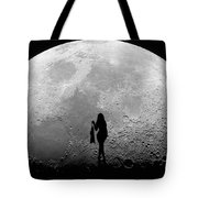 Stripper On The Moon Tote Bag