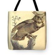 Strix Virginiana Owl Tote Bag