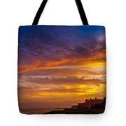Strokes Of Sunset I Tote Bag