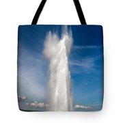 Strokkur/ Geysir In Iceland Tote Bag