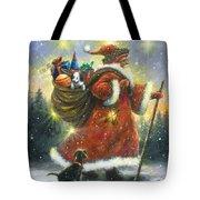 Strolling Santa II Tote Bag