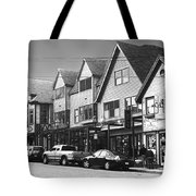 Strolling The Streets Of Bar Harbor Tote Bag