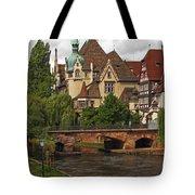 Strolling Through Strasbourg Tote Bag