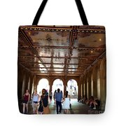 Strolling Through The Arches Tote Bag