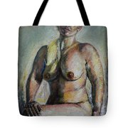 Strong Blond Tote Bag