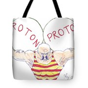 Strong Nuclear Force Tote Bag