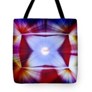 Structural Binary Reflection Tote Bag