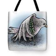 Struggling Peace Tote Bag