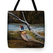 Strutting Pheasant Tote Bag