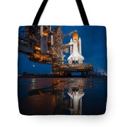 Sts 135 Atlantis Prelaunch Tote Bag