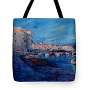 St.tropez  - Port -   France Tote Bag by Miroslav Stojkovic - Miro