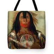 Stu-mick-o-sucks. Buffalo Bull's Back Fat. Head Chief. Blood Tribe Tote Bag