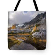 Stuart Range Soaring Fall Skies Tote Bag