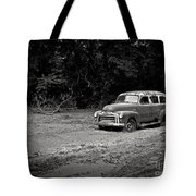 Stuck In The Mud Tote Bag by Edward Fielding