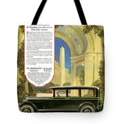 Studebaker Big Six - Vintage Car Poster Tote Bag