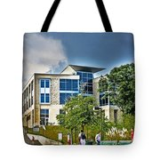 Students On Campus Tote Bag