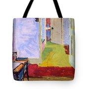 Studio Space, Ivor Street, Nw1 Oil On Canvas Tote Bag