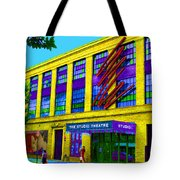 Studio Theatre Washington Dc Tote Bag