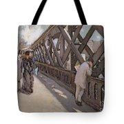Study For Le Pont De L Europe Tote Bag