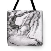 Study For The Creation Of Adam Tote Bag