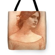 Study For The Lady Clare Tote Bag