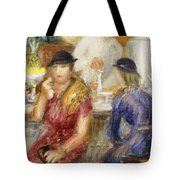 Study For The Soda Fountain Tote Bag
