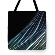 Study In Blues Tote Bag