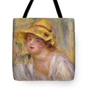 Study Of A Girl, C.1918-19 Tote Bag