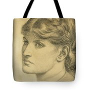 Study Of A Head For The Bower Meadow Tote Bag