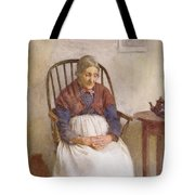 Study Of An Elderly Lady Tote Bag