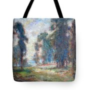Study Of An Impressionist Master Tote Bag by Quin Sweetman