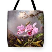 Study Of An Orchid Tote Bag