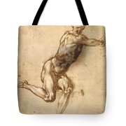 Study Of Figure To Battle Of Cascina Tote Bag