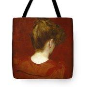 Study Of Lilia Tote Bag