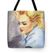 study of Marilyn Monroe Tote Bag