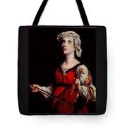 Study Of St. Cecelia Tote Bag