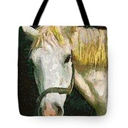 Study Of The Horse's Head Tote Bag