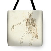 Study Of The Human Figure, Anterior View, From A Comparative Anatomical Exposition Of The Structure Tote Bag