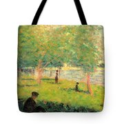 Study On La Grande Jatte Tote Bag