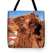 Stumped At Monument Valley Tote Bag