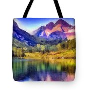 Stunning Reflections Tote Bag