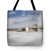 Sturgeon Bay Bridge  Tote Bag