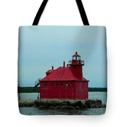 Sturgeon Bay Lighthouse Tote Bag