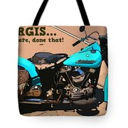 Sturgis Motorcycle Rally Tote Bag