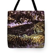 Styled Environment-the Modern Trendy Cheetah Tote Bag