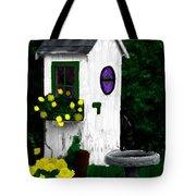 Stylish Outhouse Tote Bag