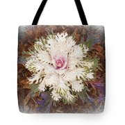 Stylized Cabbage Tote Bag